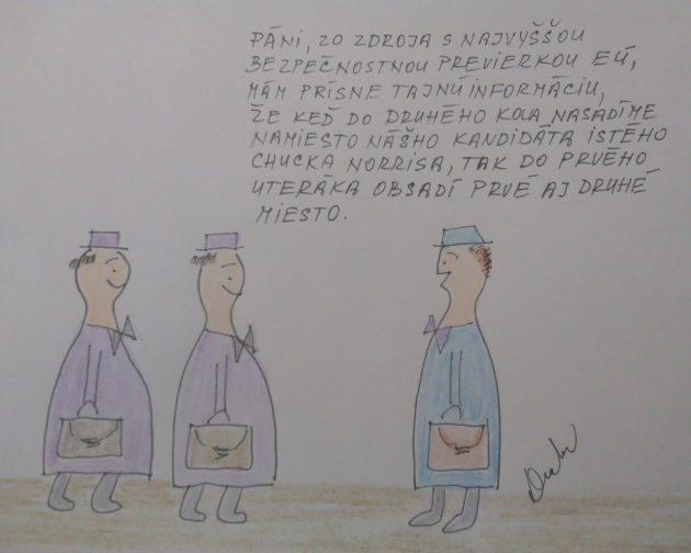 Druhe Kolo Kresleny Vtip Humor Blog Pravda Sk